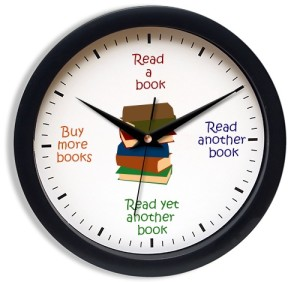 booklover-clock