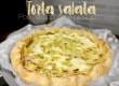 Ricetta veloce: Torta salata stracchino, prosciutto e porri